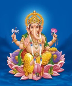 Ganesha the Deity Associated with the Root Chakra